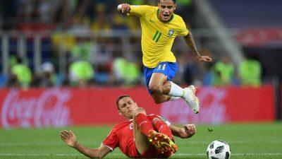 ब्राजिल समूह विजेता बन्दै नकआउट चरणमा