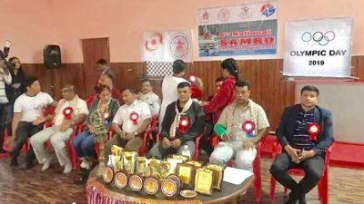 छैठौं राष्ट्रिय साम्बो च्याम्पियनशीपको उपाधि काठमाण्डौलाई