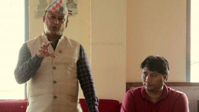 छिमेकी मुलुकहरुको हेपाहा प्रवृत्तिविरुद्ध लड्न राष्ट्रभक्त नेपालीहरु एक हुनुपर्छः पूर्वराज्यमन्त्री खड्का