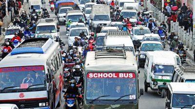 कोरोना संक्रमणको जोखिम बढेसंगै यातायातमा जोर बिजोर लागू गर्न प्रस्ताव