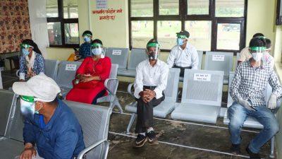 स्वास्थ मापदण्ड अपनाउदै तुम्लिङटार विमानस्थल संचालन