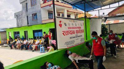रोटरी क्लब अफ काठमाडौं नर्थको आयोजनामा  रक्तदान कार्यक्रम सम्पन्न