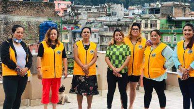 लायन्स क्लब अफ काठमाडौ आधारद्धारा रक्तदान कार्यक्रम