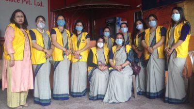 लायन्स क्लव अफ आरम्भ देउराली र दियालो देउरालीको संयुक्त  रक्तदान कार्यक्रम