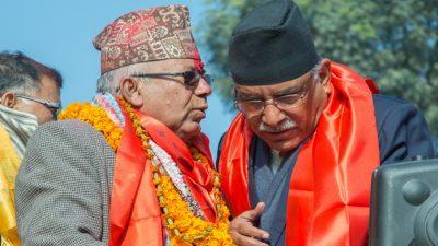 प्रचण्ड र नेपाल समूहले देशव्यापी रूपमा आक्रामक हुने गरी बनाए…