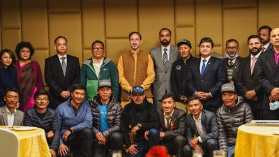 Reception in the Honour of Nepalese 1st Winter K2 Ascent