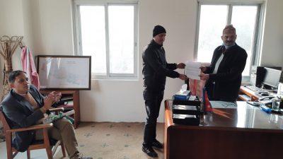 राससका श्रमजीवि पत्रकार आन्दोलित