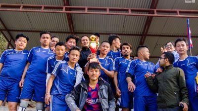 कर्मचारी मैत्री फुटवल प्रतियोगिताको उपाधि चैनपुरलाई ( फोटो फिचर )
