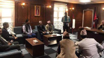 राप्रपाका केन्द्रीय सदस्य पाण्डे एमालेमा प्रवेश