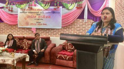 नारी दिवसको उपलक्ष्यमा ललितपुर महिला चेम्बरद्वारा व्यक्तित्व विकास तालिम आयोजना