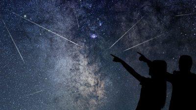 बिहीबार राति नेपाली आकाशमा उल्का वर्षाको रमाइलो दृश्य देखिने