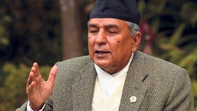 संसदीय प्रणाली जोगाउने कांग्रेसको दायित्व : रामचन्द्र पौडेल