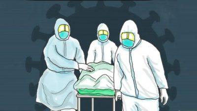 नेपालमा कोरोनाबाट एक सातामै २ सय २३ को मृत्यु