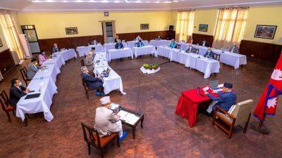 सोमबारको मन्त्रिपरिषद बैठक निष्कर्ष: तत्काल कुनै पनि क्षेत्र बन्द नहुने