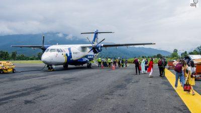 संखुवासभाको तुम्लिङटार विमानस्थल दुई महिना पछि संचालनमा ( फोटोफिचर )